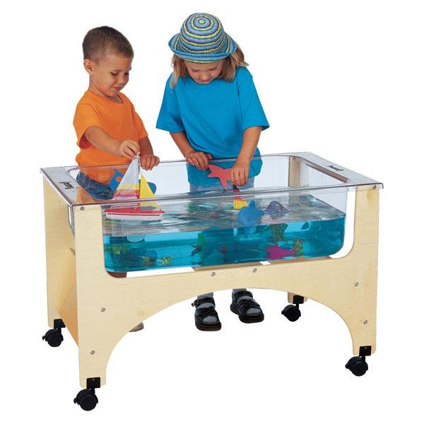 Jonti-Craft see-thru sensory table