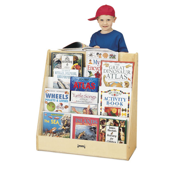 Jonti-Craft flushback pick-a-book stand