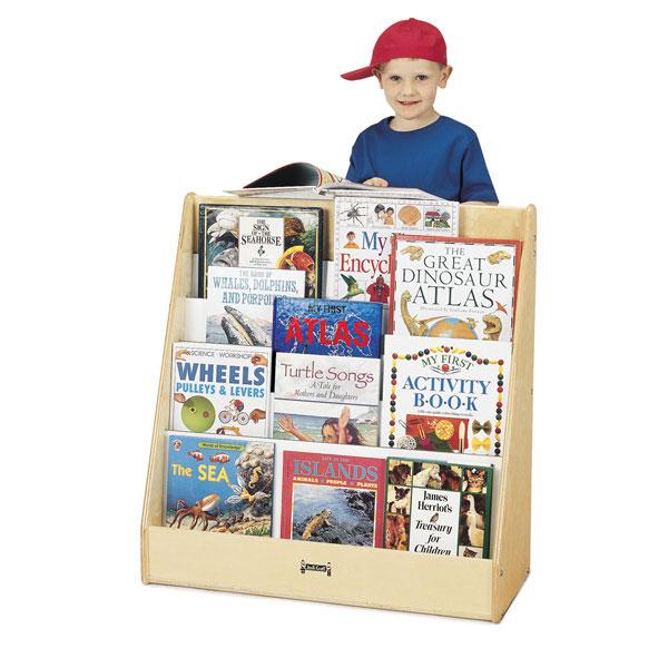 Jonti-Craft flushback pick-a-book stand