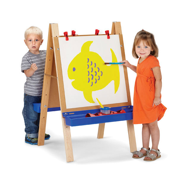 Jonti-Craft toddler adjustable easel