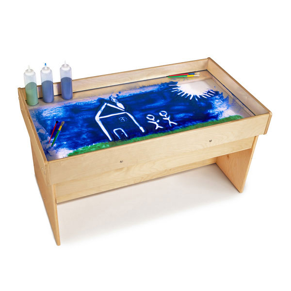 Large light table