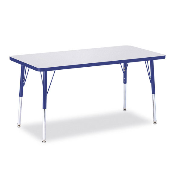 "Berries activity table - rectangle 24"" x 48"""