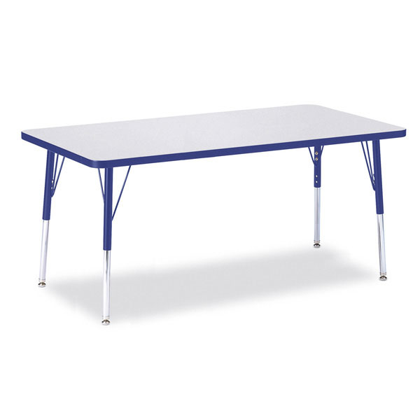 "Berries activity table - rectangle 30"" x 60"""