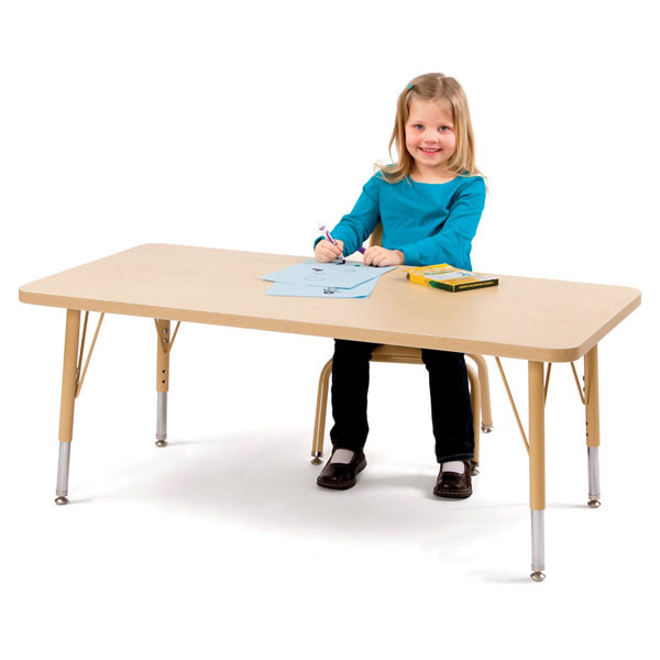 Berries rectangle activity table