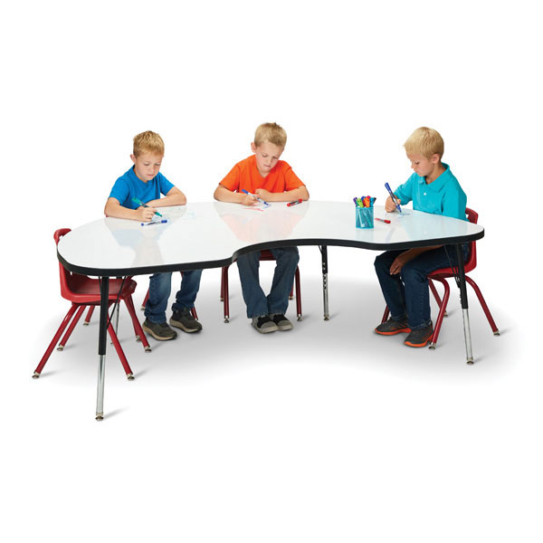 "Berries activity table - kidney 48"" x 72"""