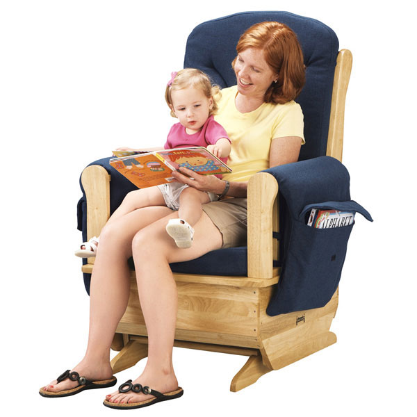 Jonti-Craft glider rocker chair