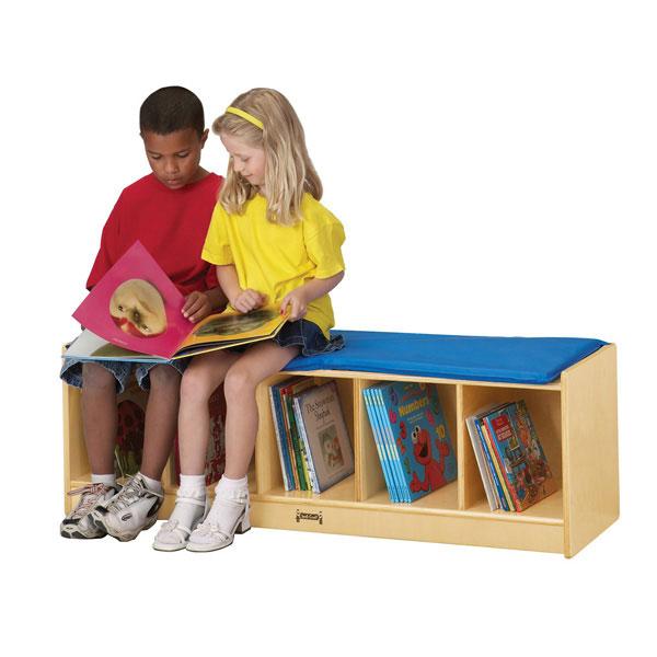 Jonti-Craft bench locker
