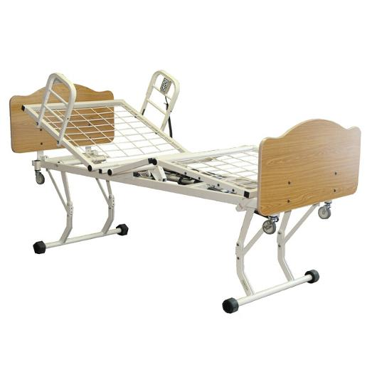 Joerns Care 100 Adjustable Height Low Bed