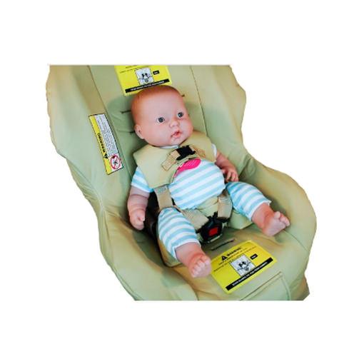 Jefferson pediatric car seat for smaller child