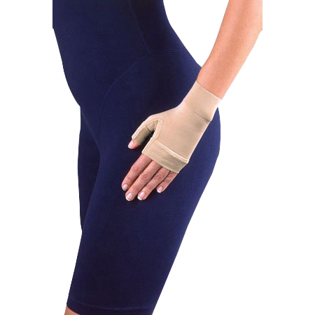 Jobst Medicalwear Women's Compression Gauntlet, Small, Beige, Latex-free
