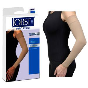Jobst Bella Strong Armsleeve with Silicone Band