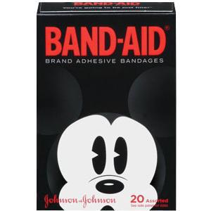 Band-Aid Decorated Disney Mickey Mouse Adhesive Bandage