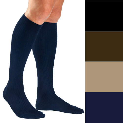 Jobst Men's Dress Supportwear Knee High Compression Socks