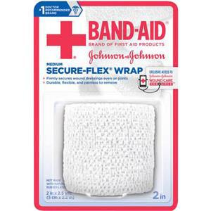 Band-Aid First Aid Secur-Flex Wrap Medium