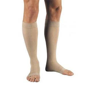 Jobst Relief Knee-High Compression Stocking, Open Toe, X-Large, Beige