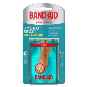 Band-Aid Hydro Seal Corn Cushion Bandage, Medium, 0.6 x 2.3 Inch