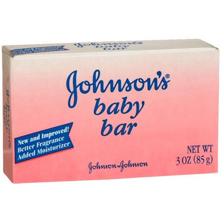 Johnsons Scented Baby Soap, 3 oz. Bar