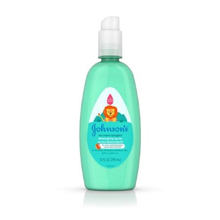 Johnson & Johnson Hypoallergenic Detangling Spray, 10 oz.