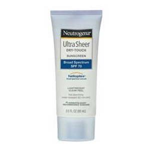 Neutrogena Ultra Sheer Dry-Touch Sunscreen SPF70
