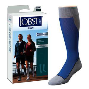 Jobst Sport Knee-High Firm Close Toe Compression Socks