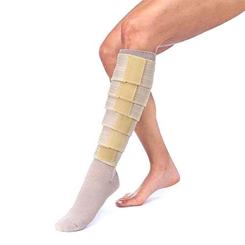 Jobst FarrowWrap Strong Compression Legpiece, Tan