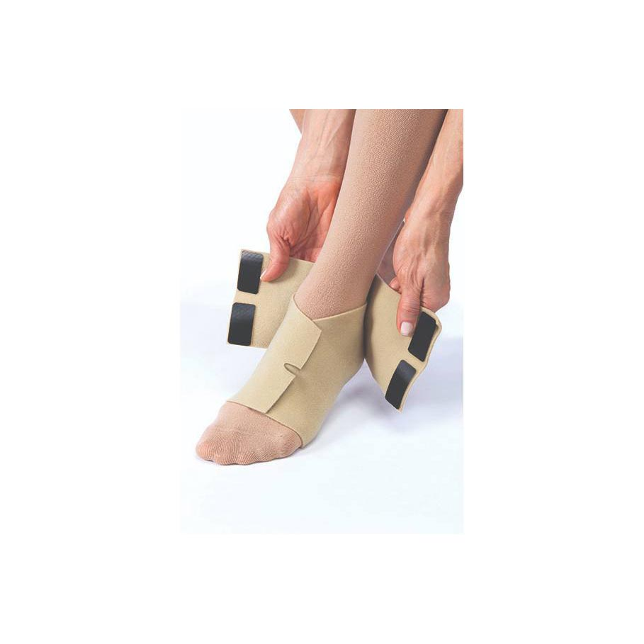 Jobst FarrowWrap Basic Compression Footpiece, Tan