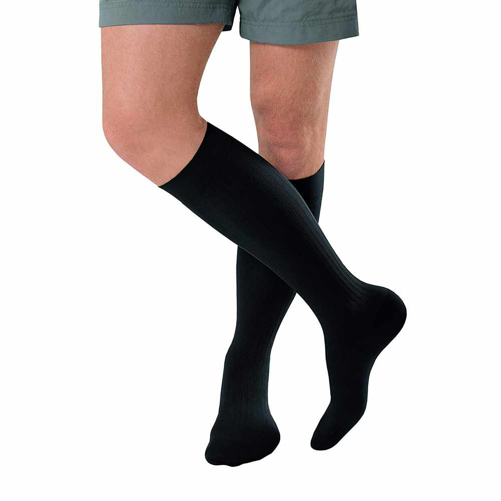 Jobst Knee-High Firm Compression Socks with SoftFit, Long Size 5