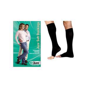 Juzo Soft Knee-High Compression Stocking, Size 5, Black