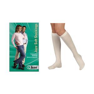 Juzo Soft Knee-High Compression Stockings, Size 4, White