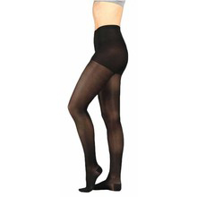 Juzo Soft Compression Pantyhose, Size 2, Black