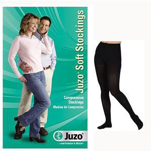 Juzo Soft Compression Pantyhose, Petite, Size 3, Black