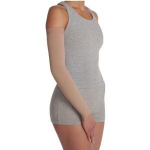 Juzo Soft Arm Sleeve with Silicone Border, 20-30 mmHg, Size 2 Regular, Beige