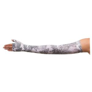 Juzo Compression Max Cut Arm Sleeve, 20-30 mmHg, Size 5 Regular, Floral Gray