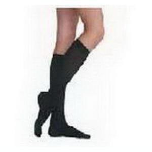 Juzo Soft Opaque Knee-High Compression Stockings, Size 5, Black