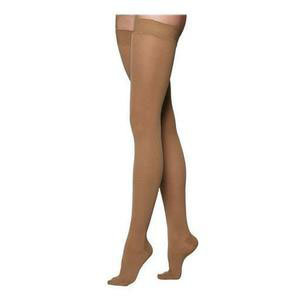 Juzo Soft Thigh-High Compression Stockings, Size 3, Beige