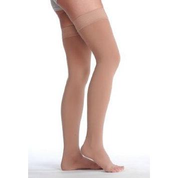Juzo Soft Thigh-High Compression Stockings, Size 2, Chestnut