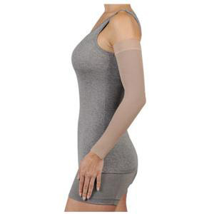 Juzo Compression Max Silicone Border Arm Sleeve, 30-40 mmHg, Size 3 Long, Beige
