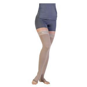 Juzo Silver Soft 20-30mmHg Thigh-High Compression Stockings, Beige