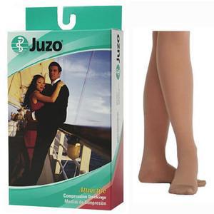Juzo Hostess Women's Knee-High Sheer Compression Stockings, Size 3 Regular, Noblesse