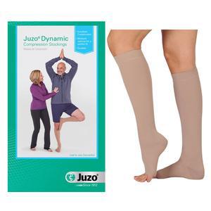 Juzo Dynamic Knee-High Firm Compression Stocking, Beige