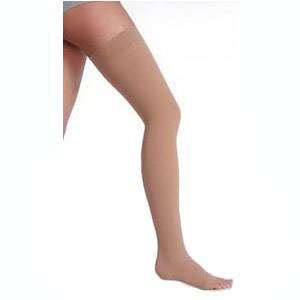 Juzo Varin Garter Style Thigh High Specialty Compression Stockings, Beige