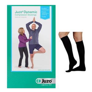 Juzo Dynamic Knee-High Compression Stocking, 20-30 mmHg, Size 3, Black
