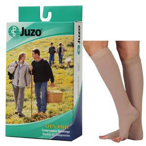 Juzo Dynamic Knee-High Compression Stockings, Size 1, Beige
