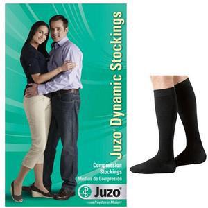 Juzo Dynamic Knee-High Compression Stockings, Size 3, Black
