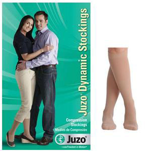 Juzo Dynamic Knee-High Compression Stockings, Size 4, Beige
