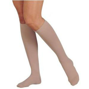 Juzo Dynamic 30-40 mmHg Knee-High Compression Stockings, Black, Size 4