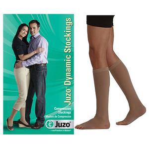 Juzo Dynamic Knee-High X-Firm Compression Stocking, Size 2 Petite, Beige