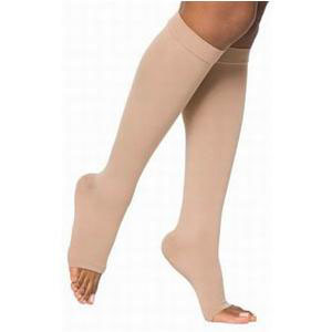 Juzo Dynamic 30-40 mmHg Knee-High Compression Stockings, Beige, Size 5
