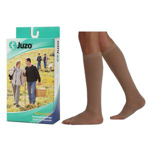 Juzo Dynamic Knee-High X-Firm Compression Stocking, Size 3 Short, Beige