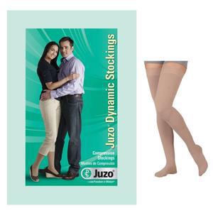 Juzo Dynamic Unisex Thigh-High X-Firm Compression Stocking, Size 2, Beige